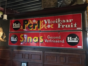 Emaille reclameborden Hero | Bar decoraties | Pubborden