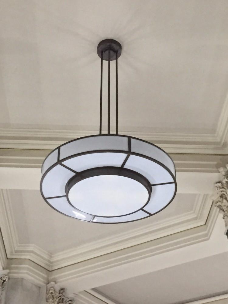 horeca verlichting art deco hanglampen mega grote hanglampen
