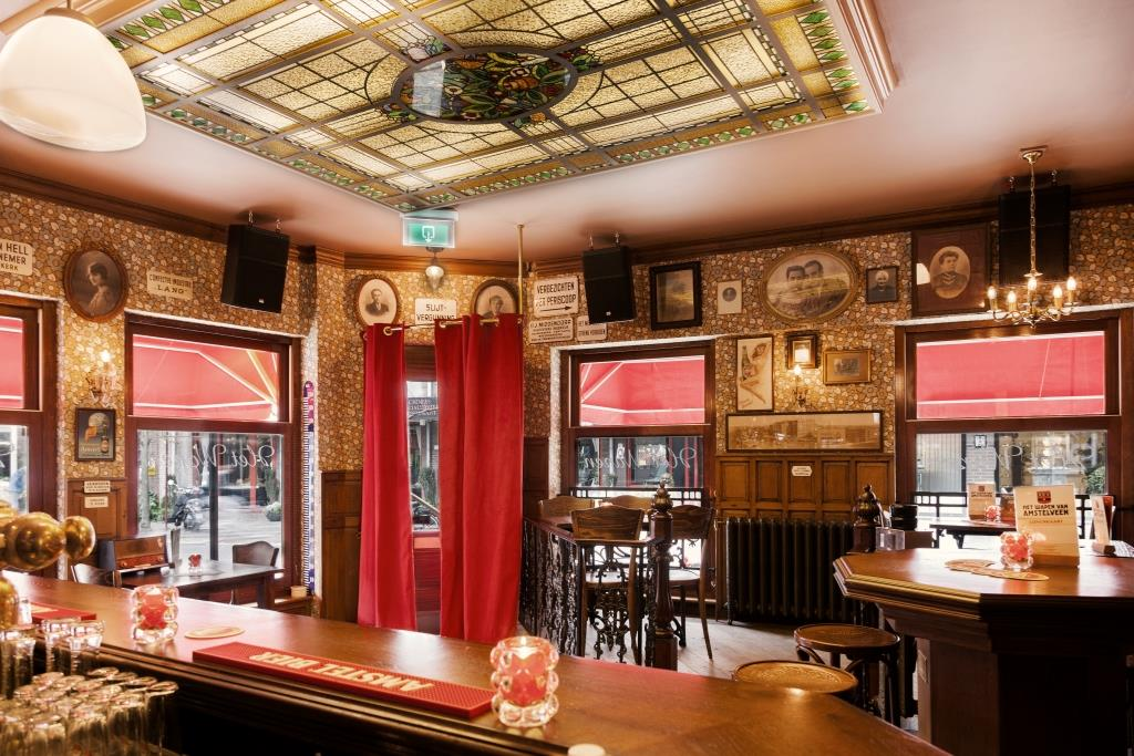 Jordaans Café Interieur | Wapen van Amstelveen | Amsterdamse Kroeg ...