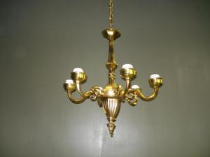 koperen kroonluchter antieke kroonluchter hangverlichting horecaverlichting