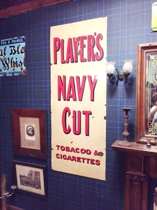 Players Navy Cut decoratie