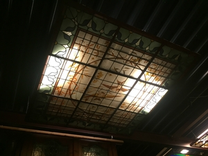 Stained Glass Ceiling (200x200 cm.)