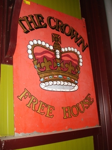 The Crown Free House decoratie | Pub decoratie