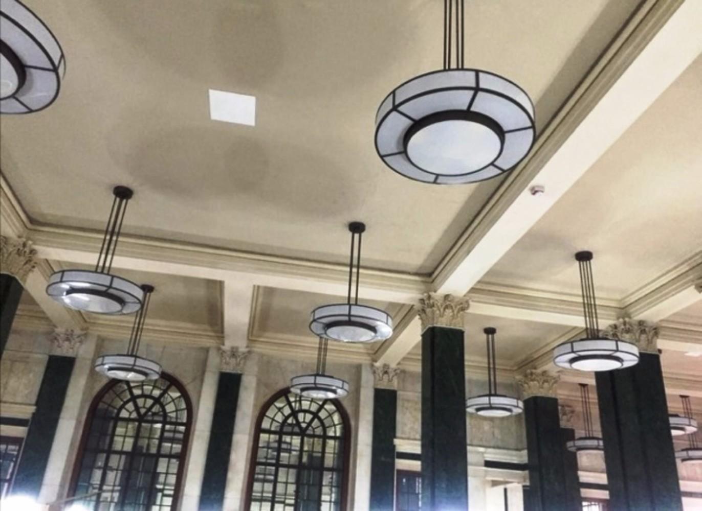 Art Deco Hanglamp : Unieke art deco hanglampen hangverlichting grote hanglampen